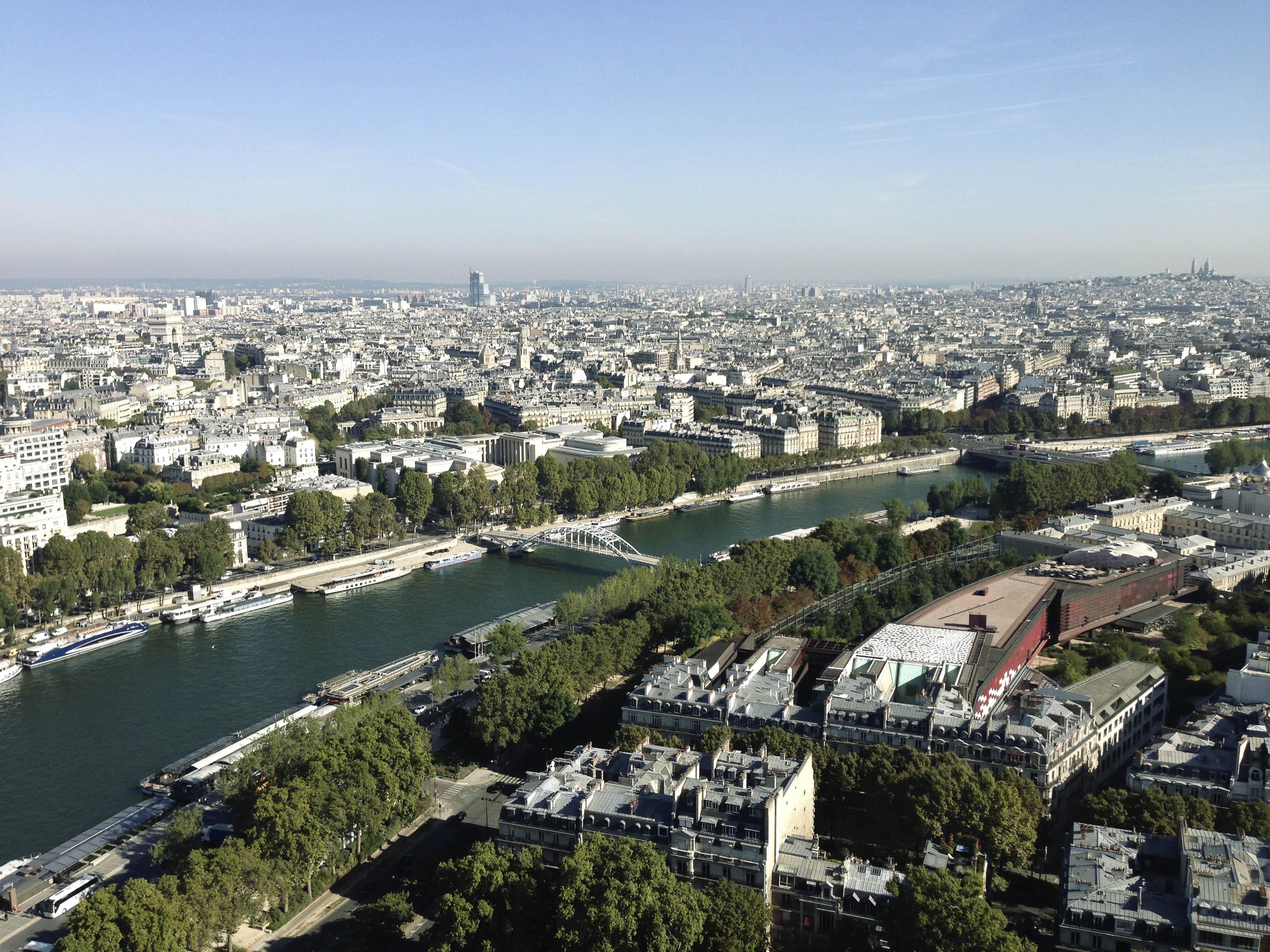 Paris_Blick von oben