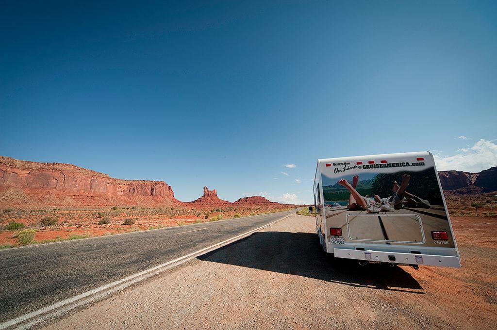 Parken wo du willst: Mit dem Camper durch die USA