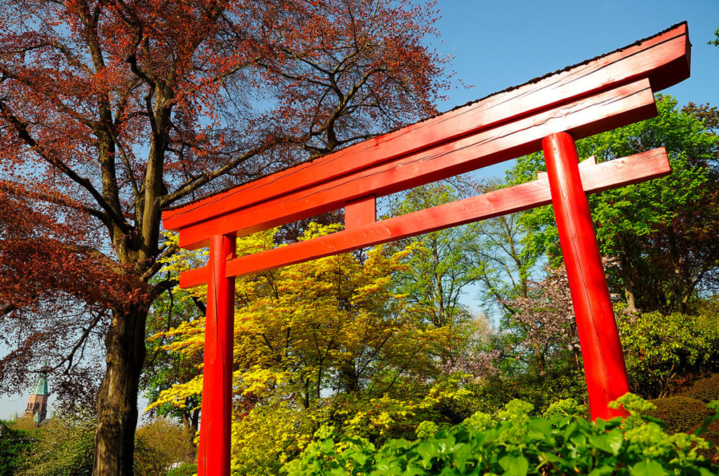 Bloggen Mal Anders Open Air Buro Im Japanischen Garten Living The