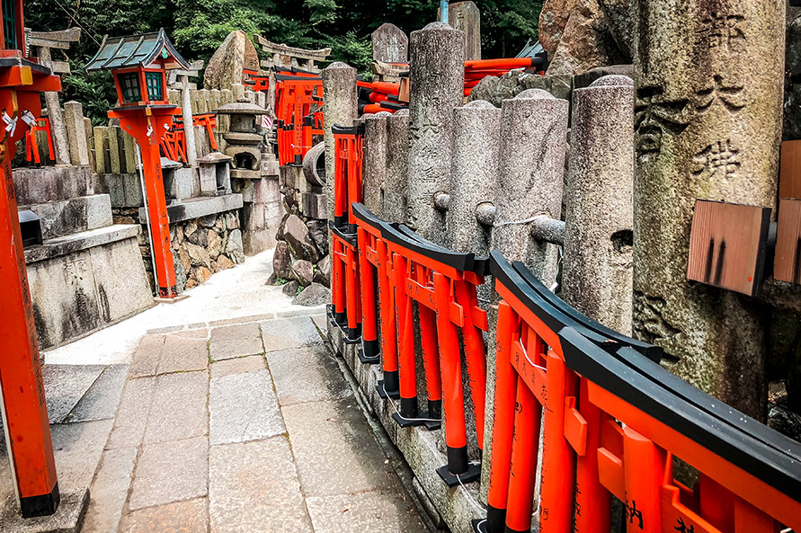 1000 rote Tore in Kyoto