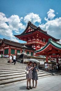 Fushimi Inari in Kyoto ist einen Ausflug wert