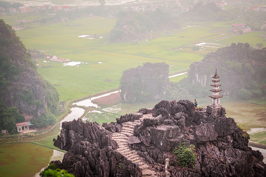Ausblick Hang Mua