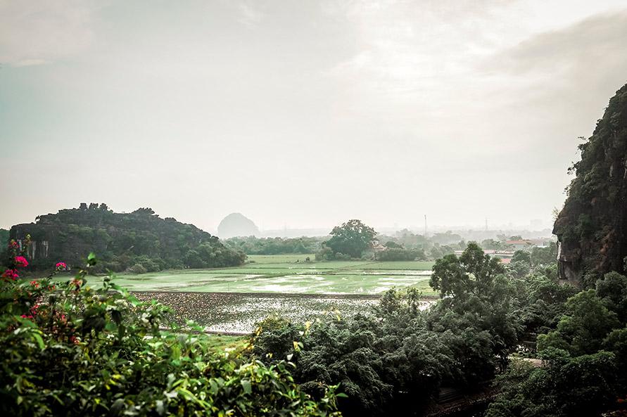 Hang Mua Ausblick