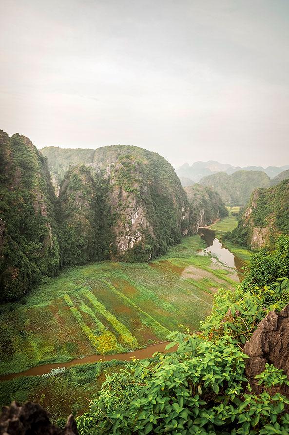 Hang Mua Flussblick