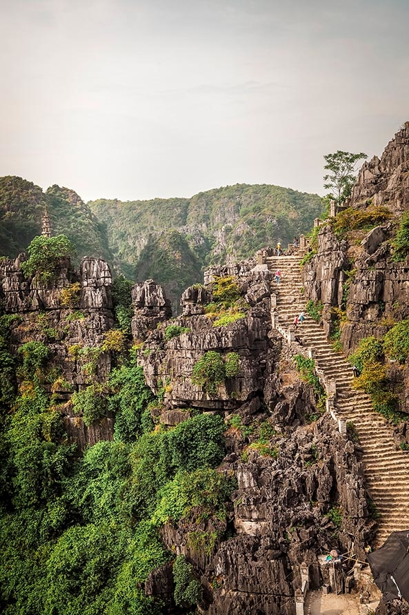 Hang Mua Treppe
