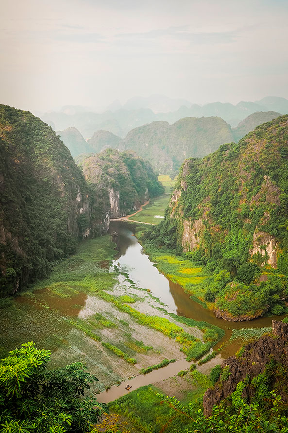 Trockene Halong Bucht Hang Mua