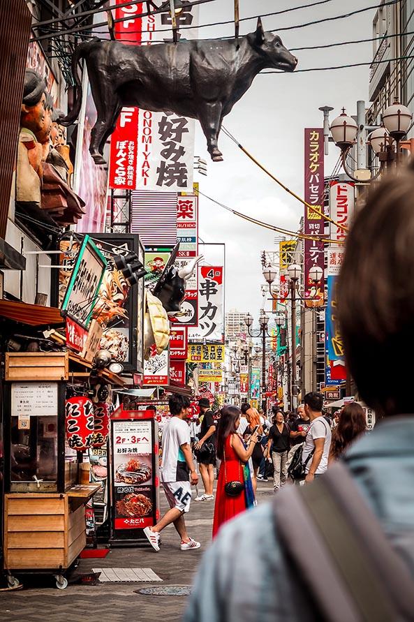 Osaka Essen und Resturants