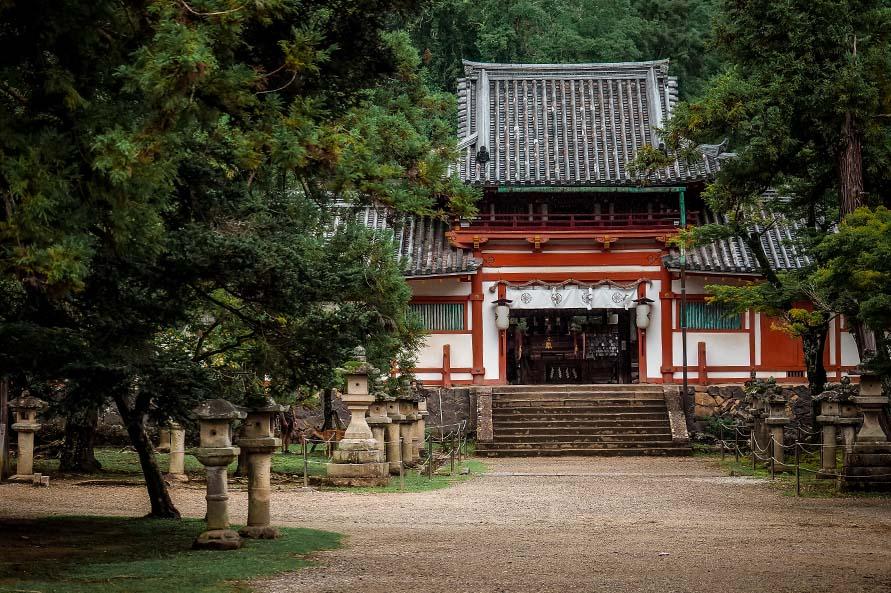 Schrein im Nara Park